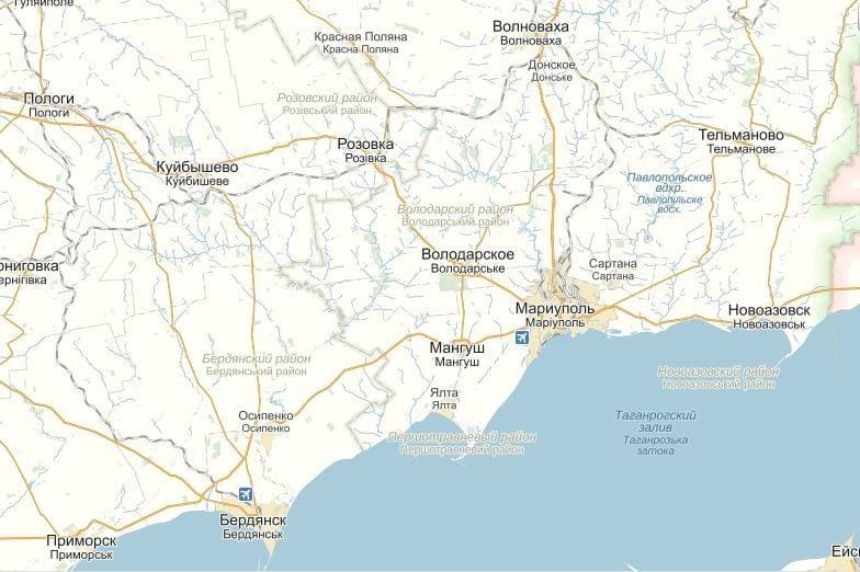 Мариуполь и Бердянск