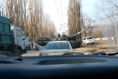 Из-за ДТП движение по трассе в сторону Донецка было временно перекрыто