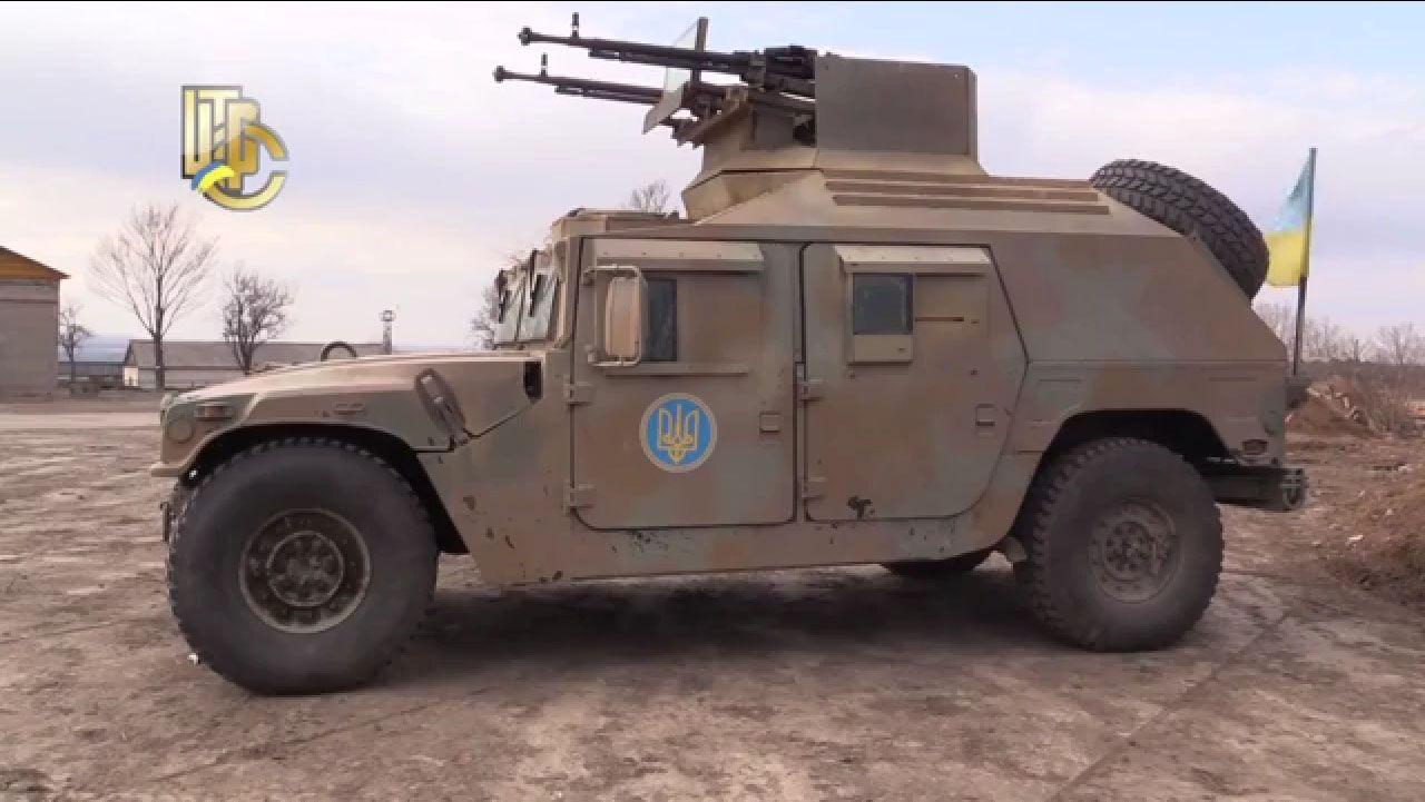 Силовики протестировали  броневик Humvee
