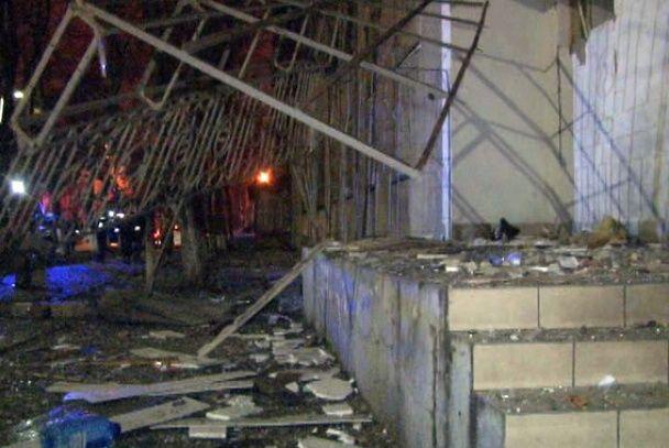 Взрыв волонтерского офиса в Одессе