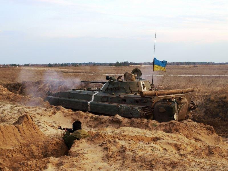 В Гранитном идет бой: террористы пошли на штурм украинских позиций