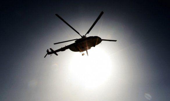 В Киевской области разбился военный вертолет