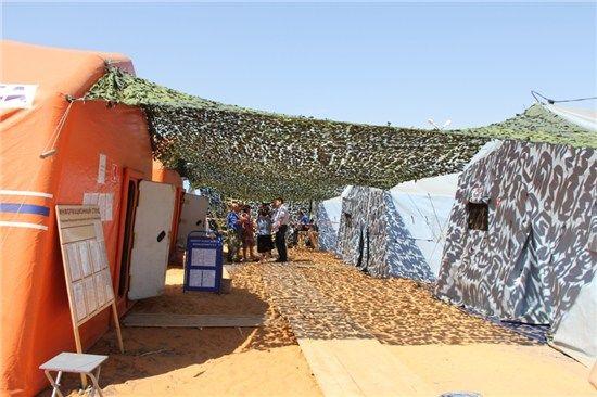 В РФ беженцев с Донбасса выселяют в палатки