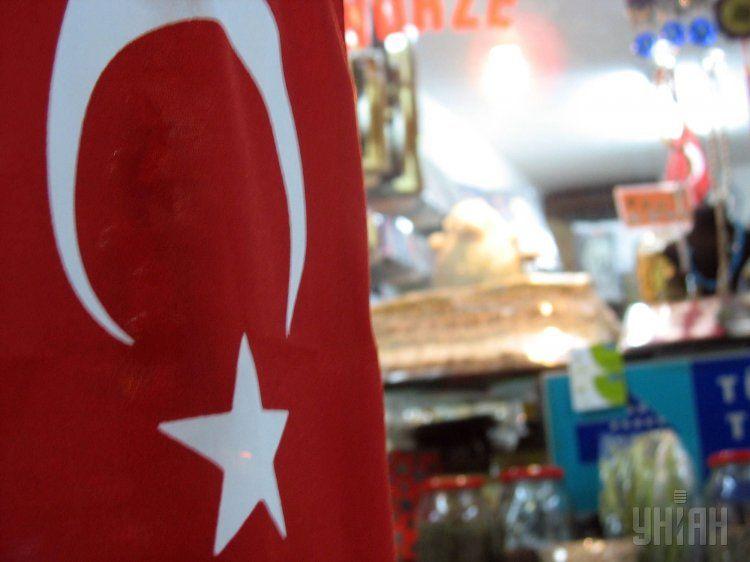 Флаг Турции, иллюстрация