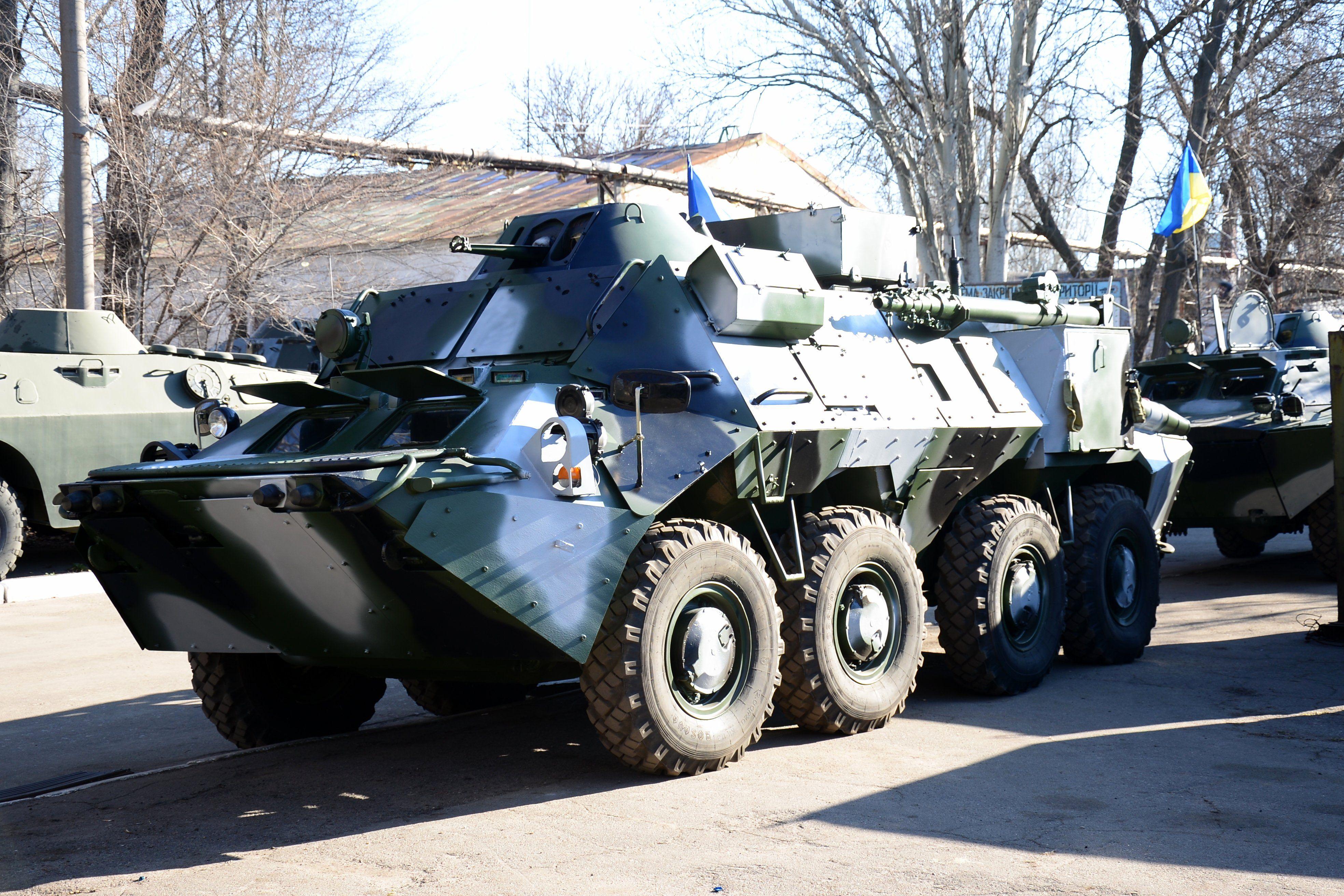 В Украине создали новую бронемашину