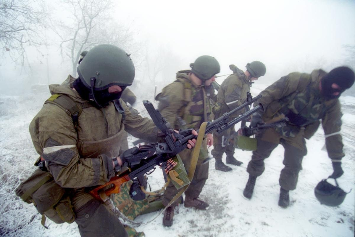 Под Красным Лучом казаков  зачищали спецназовцы РФ, иллюстрация