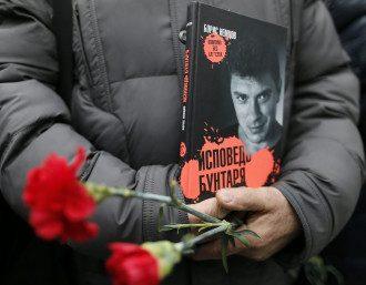Церемония прощания с Немцовым