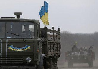 Украинские силовики под Артемовском