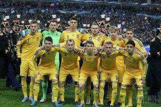 Сборная Украины по футболу, иллюстрация