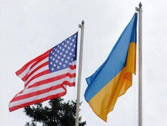 Украина, США, флаги