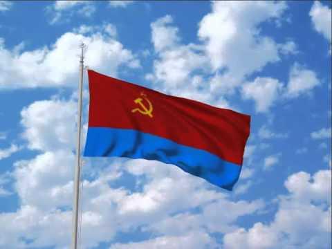 Флаг УССР, иллюстрация