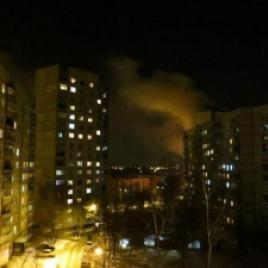 Жители Харькова проснулись от мощного взрыва.
