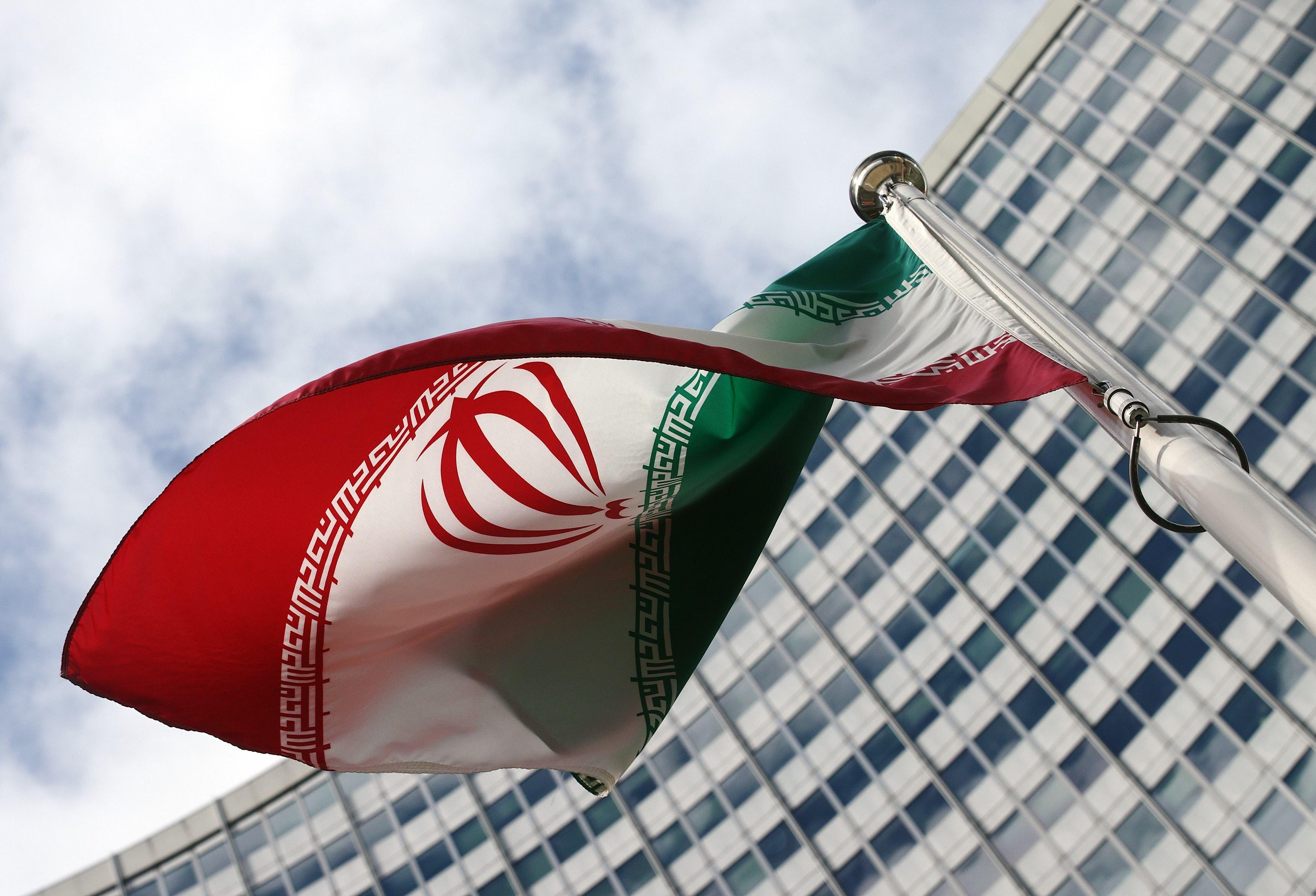 Флаг Ирана, иллюстрация