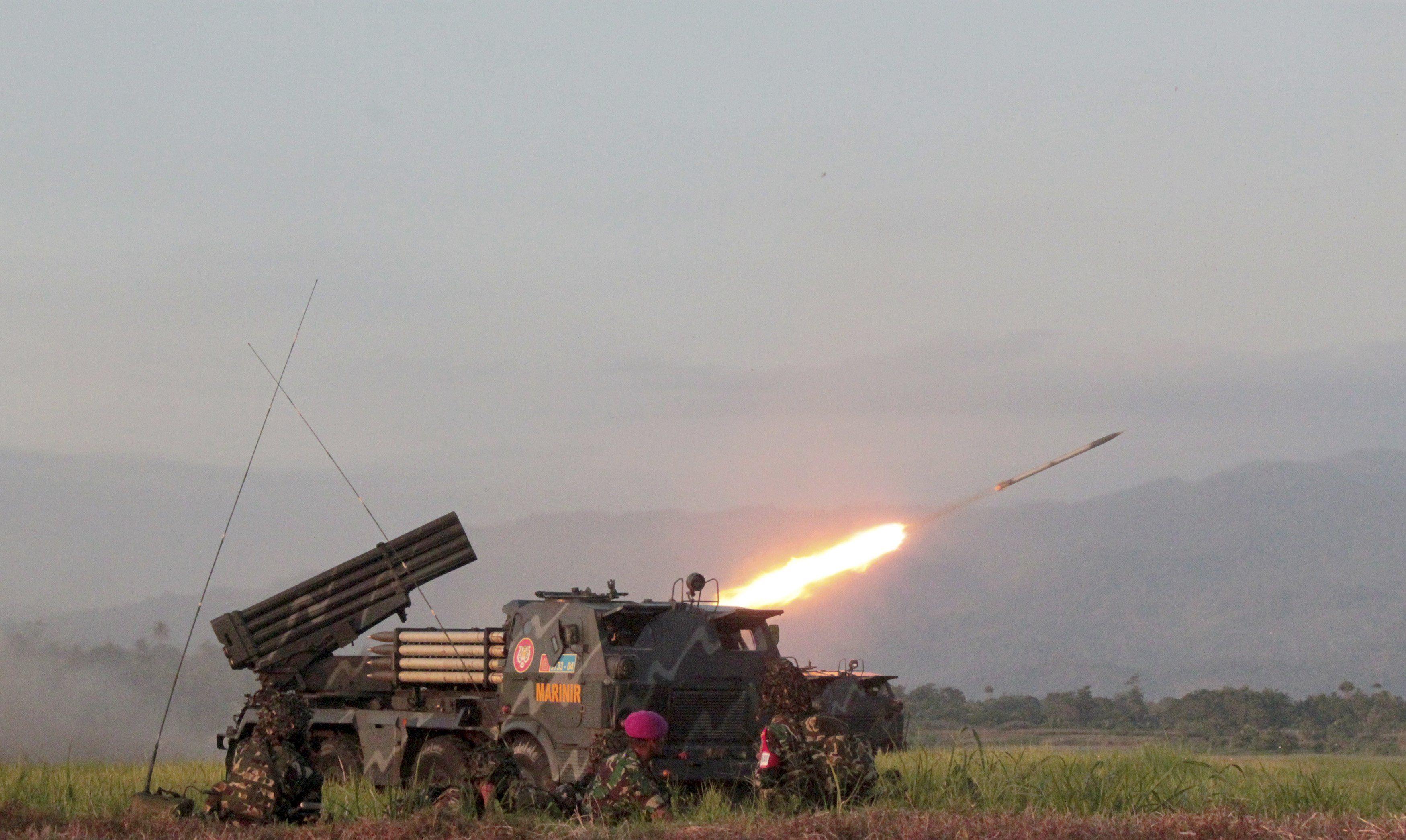 Боевики обстреливают Горловку, иллюстрация