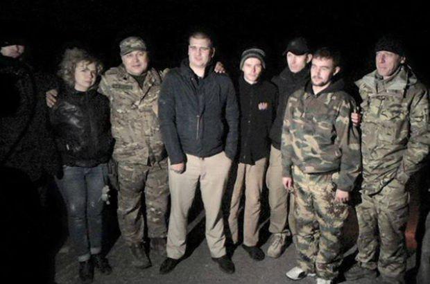 Освобождение пленных на Донбассе, иллюстрация