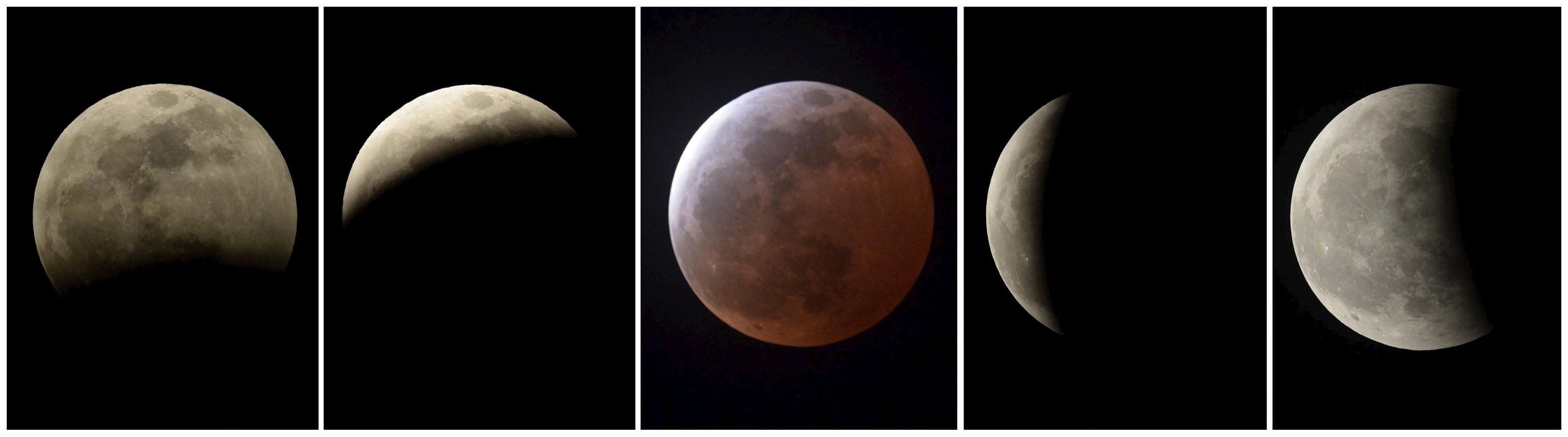 Частично кровавое лунное затмение смогут наблюдать и украинцы.