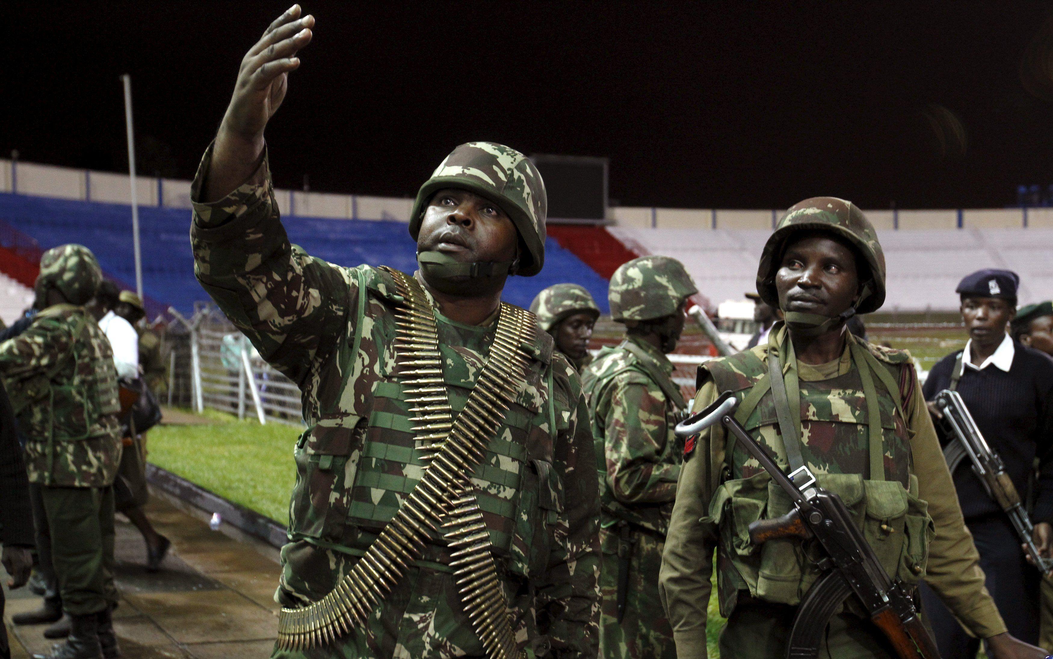 Кенийские силовики