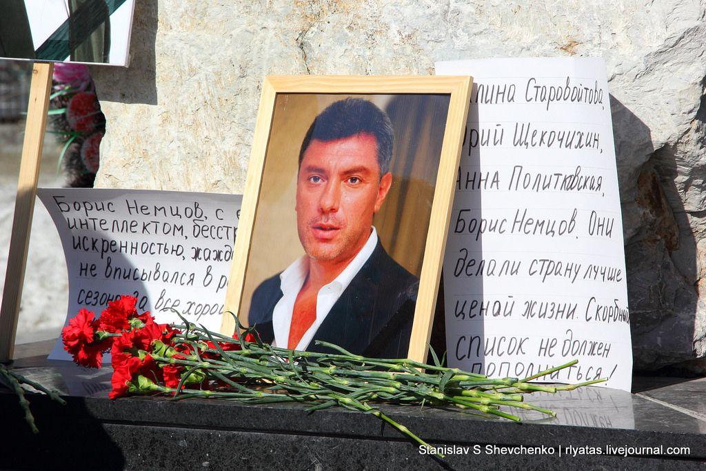 Портрет Бориса Немцова, иллюстрация