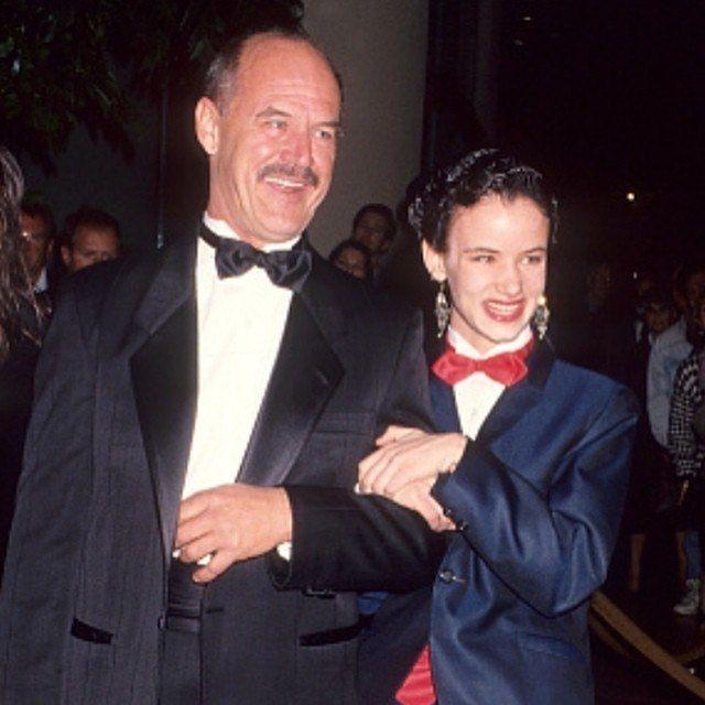 Джанетт Льюис с отцом