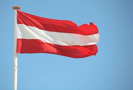 Австрія, прапор