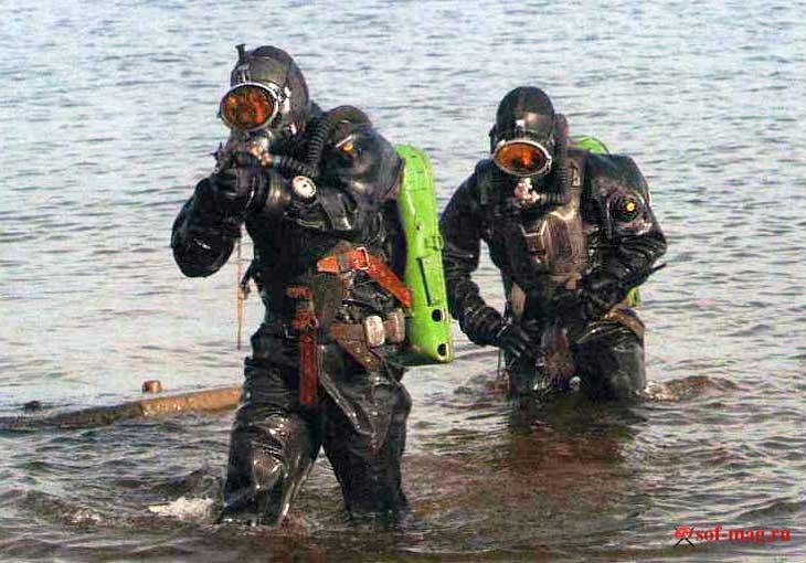 Морской спецназ РФ
