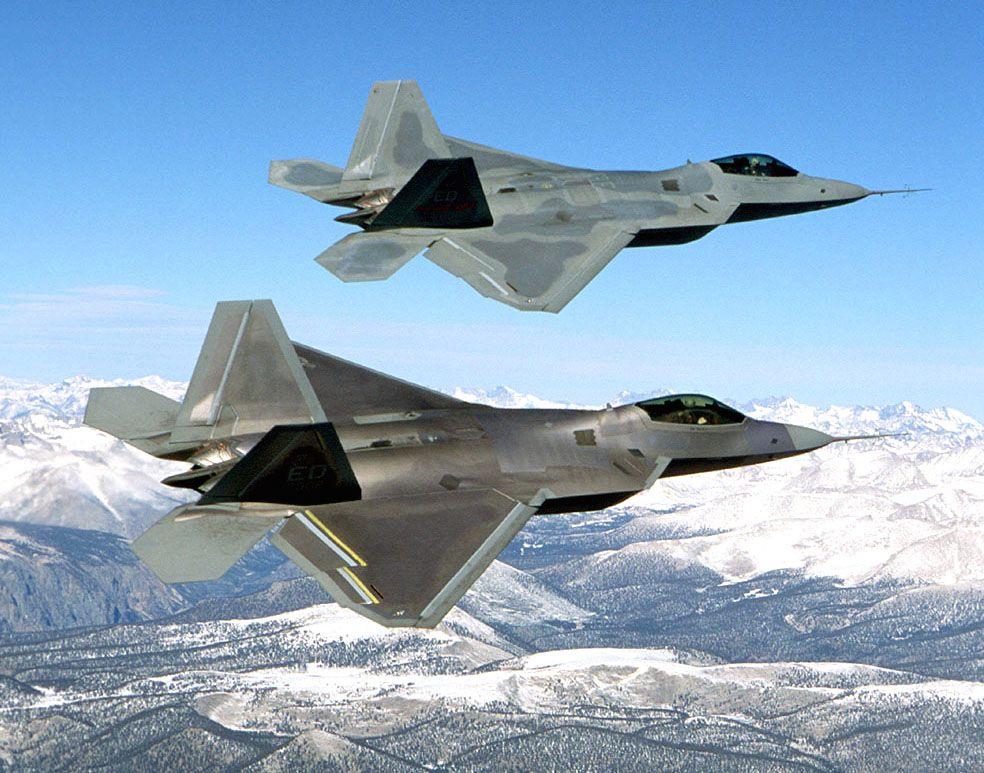 Американские ВВС на учениях, иллюстрация