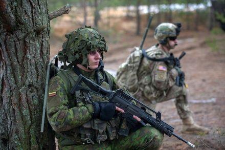 Учения сил НАТО