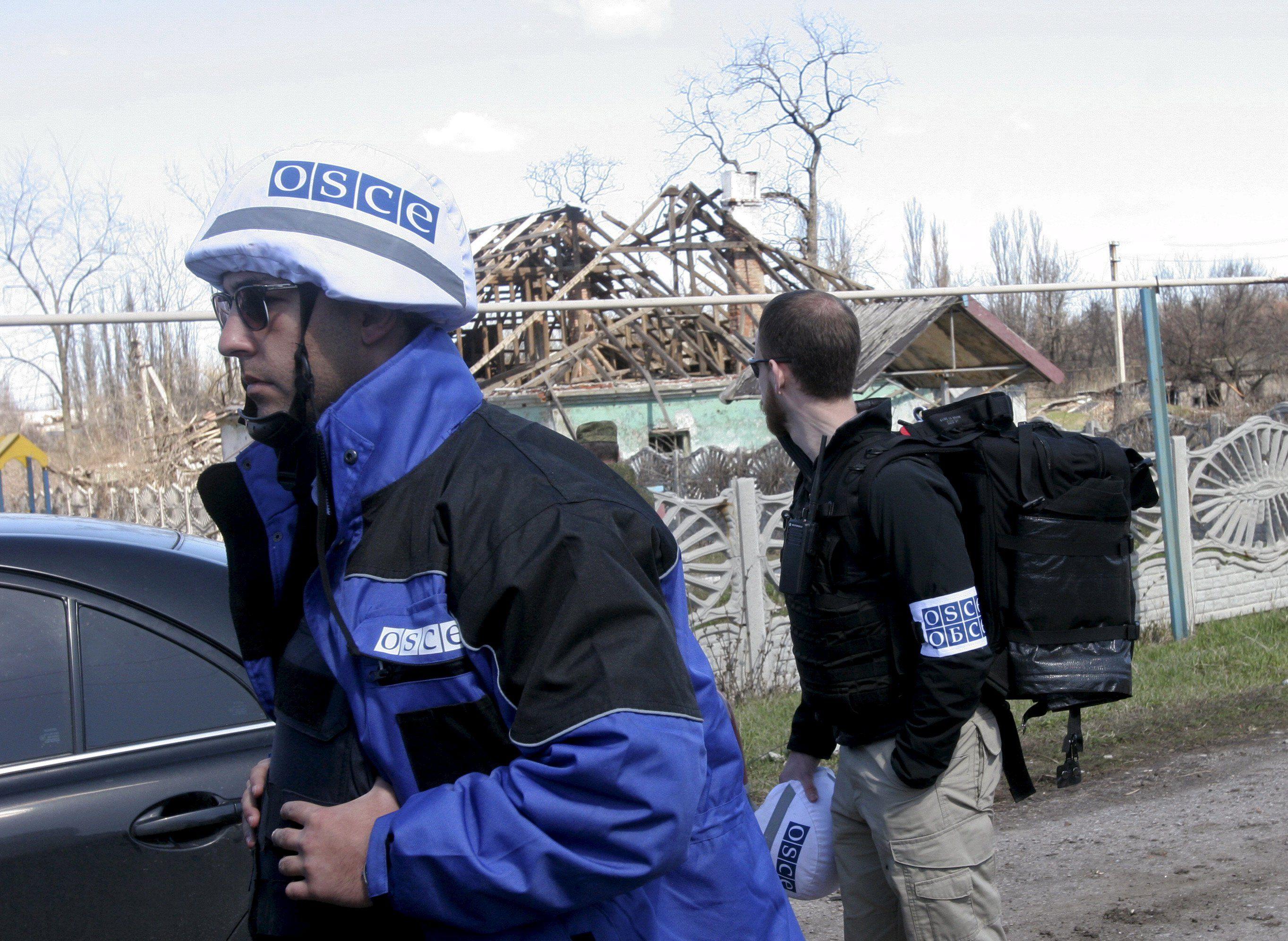 Наблюдатели ОБСЕ на Донбассе, иллюстрация
