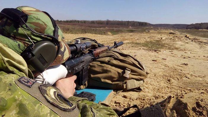 Украинский снайпер, иллюстрация