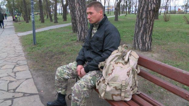 Боец 80-й бригады ВСУ Юрий Сова, который вместе с Брановицким попал в плен к боевикам.