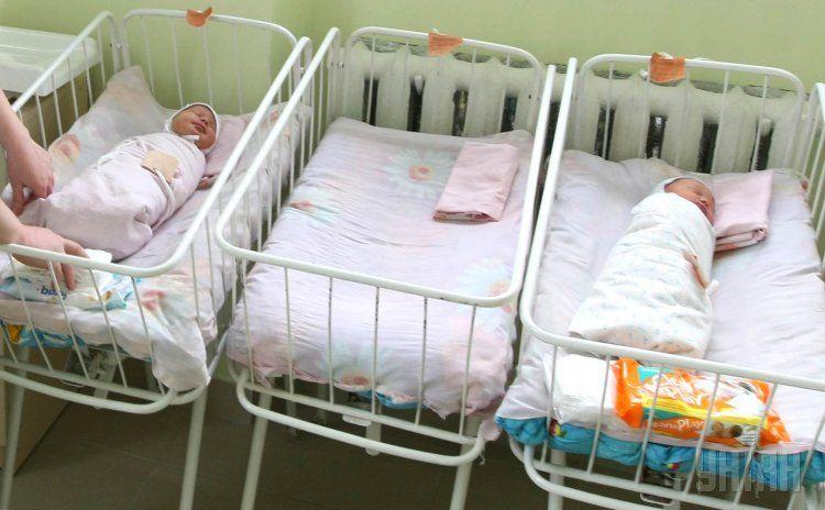 роддом, новорожденные