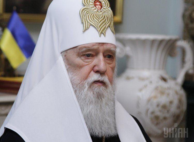 Патриарх Филарет рассказал о встрече с главой РПЦ