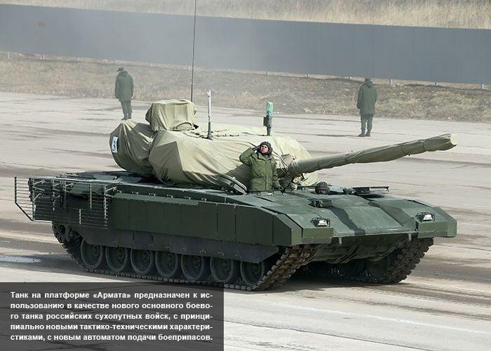 С новым вооружением боеспособность российского танка значительно усиливается