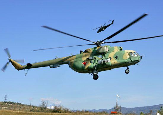 вертолет, МИ-8