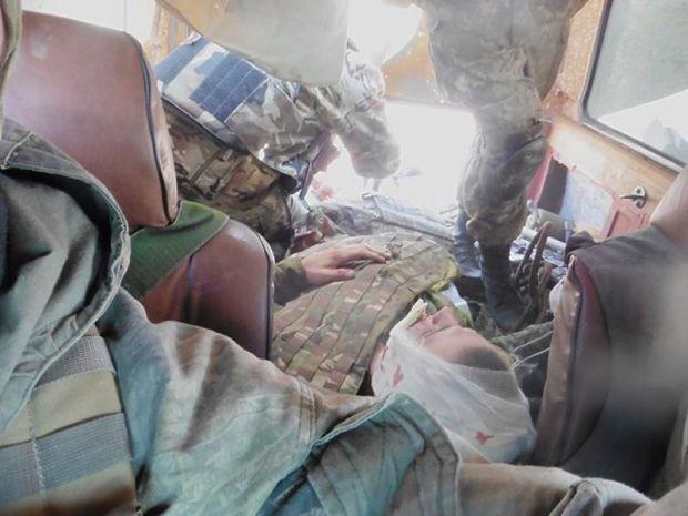 Один из раненых — военнослужащий 7-й роты.