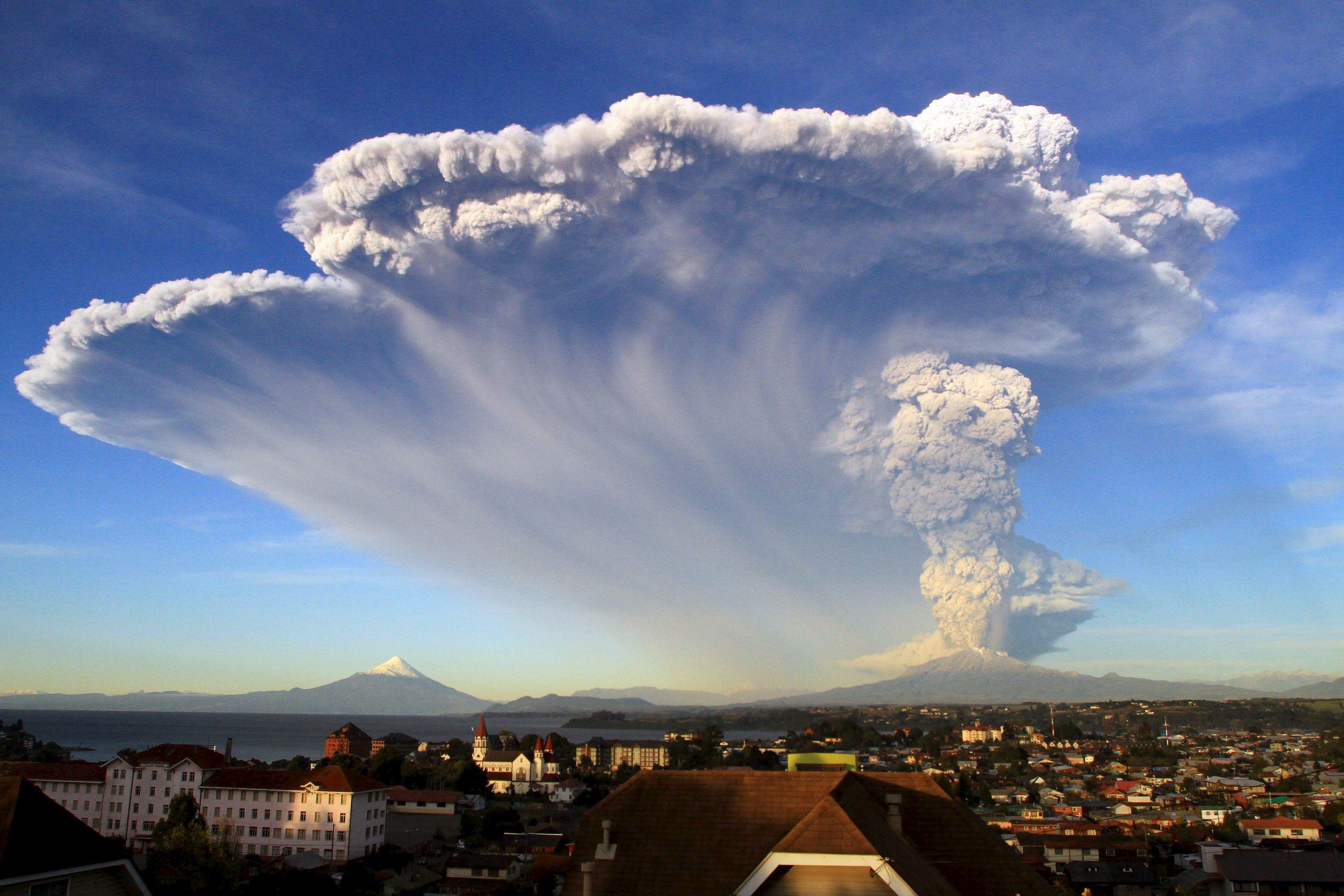 Вулканы могут погубить нашу планету