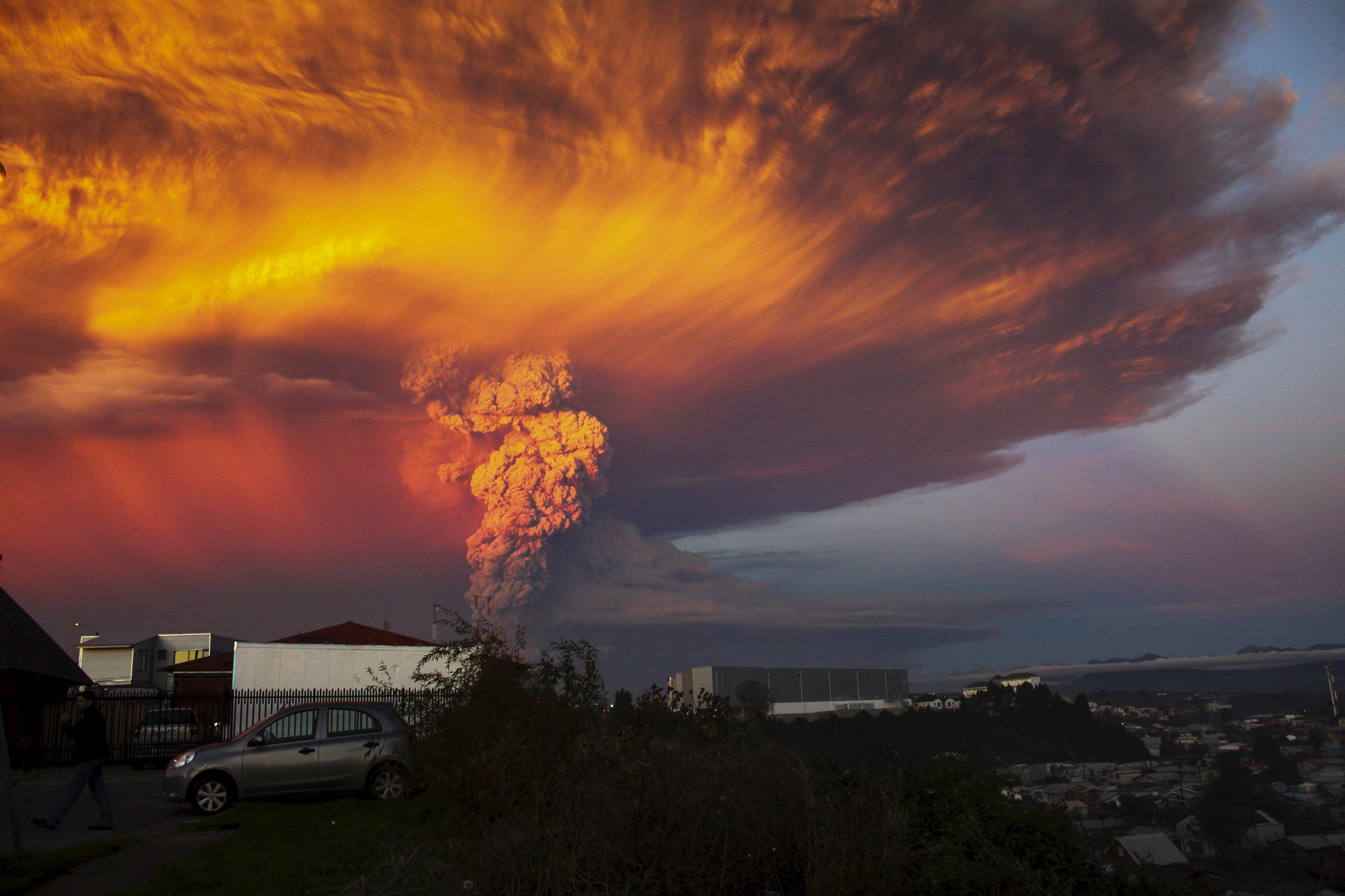 Вулканы могут спровоцировать апокалипсис