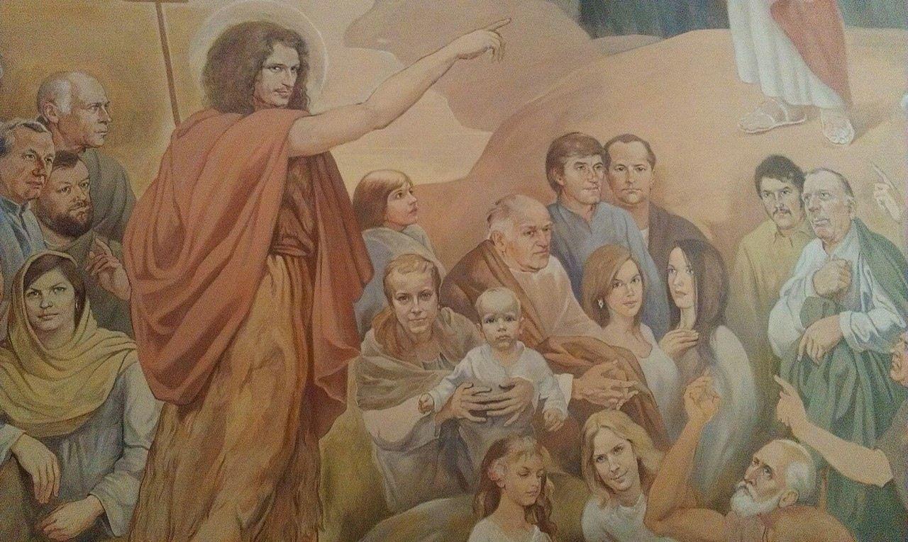 Кузьма в образе Иоанна Крестителя