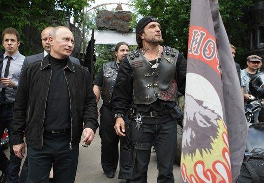 Владимир Путин и лидер