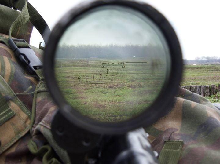Силы АТО создали эффективную систему борьбы с вражескими стрелками