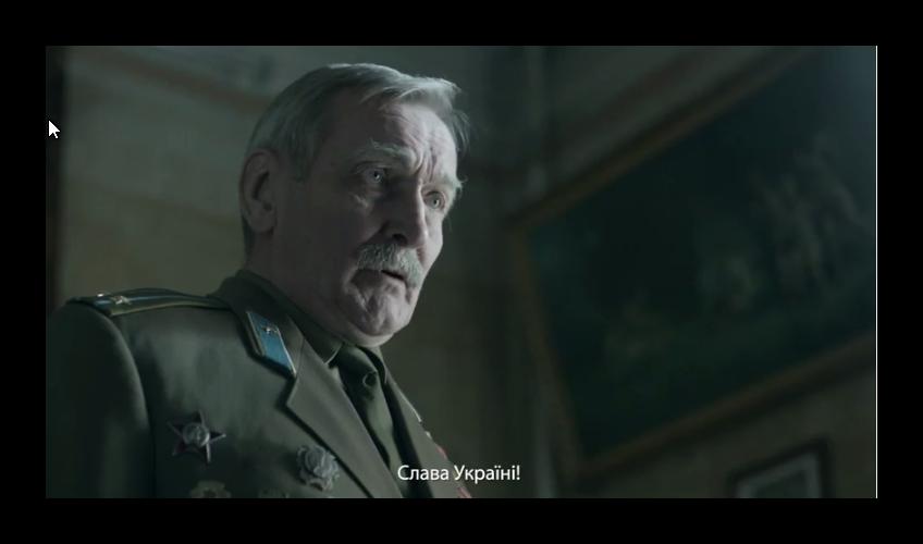Владимир Талашко в роли ветерана