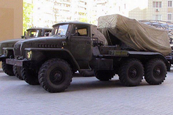 Военная техника боевиков на Донбассе, иллюстрация