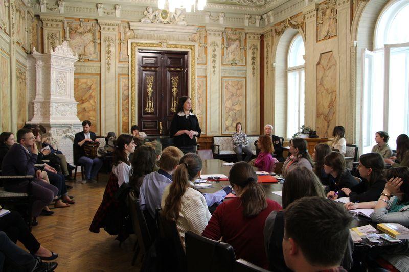 Влада Литовченко на литературном форуме