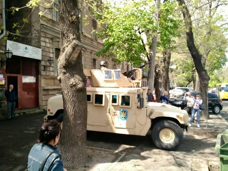 Задержание сепаратистов в Одессе, иллюстрация