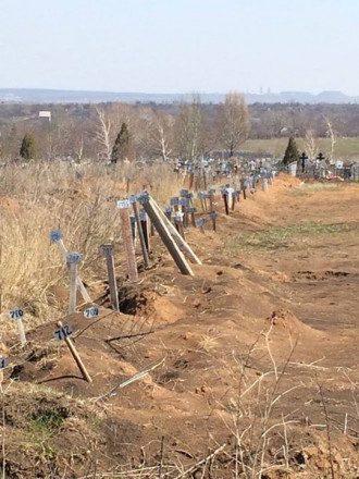 Захоронения боевиков на Донбассе, иллюстрация