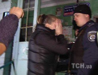 Невестка Калашникова и сотрудник милиции