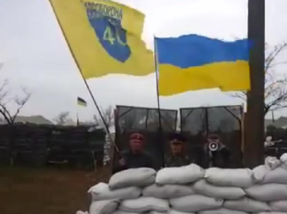 Троллинг оккупантов на фронте