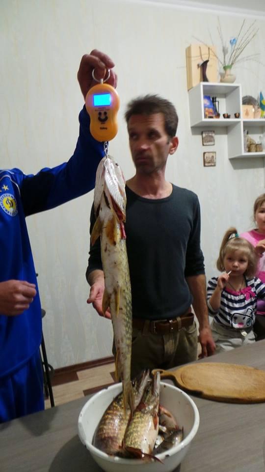 Михайличенко с уловом