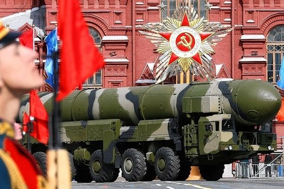 Россия угрожает ядерным оружием, иллюстрация