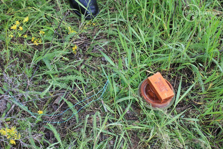 В Мариуполе предотвратили теракт: обнаружен склад боеприпасов, опубликованы фото